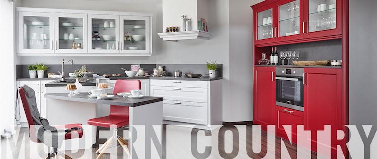 Moderne keuken met landelijk accent