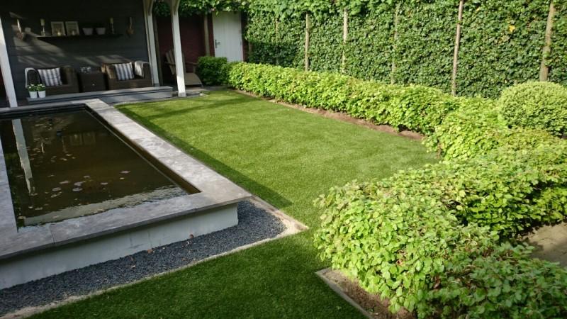 Kunstgras voor de tuin product in beeld startpagina for Ondergrond zwembad tuin