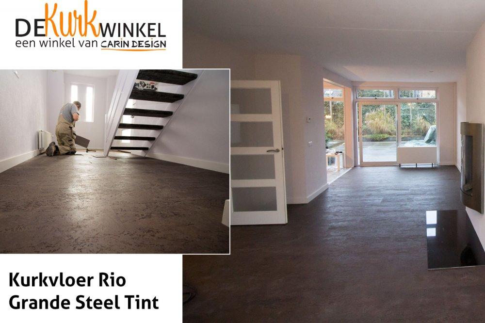 Kurkvloer rio grande steel tint product in beeld startpagina