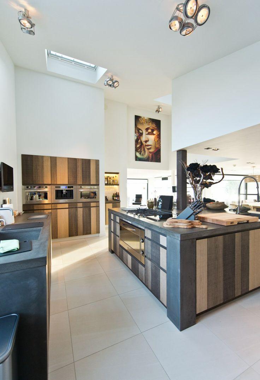 Keuken Landelijk Hout : Landelijk houten keuken handgemaakt – Tieleman keukens – Product in