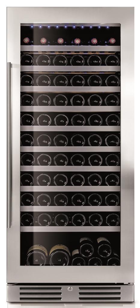 Le Chai LM1210 - Wijnklimaatkast 1 temperatuur voor 121 flessen