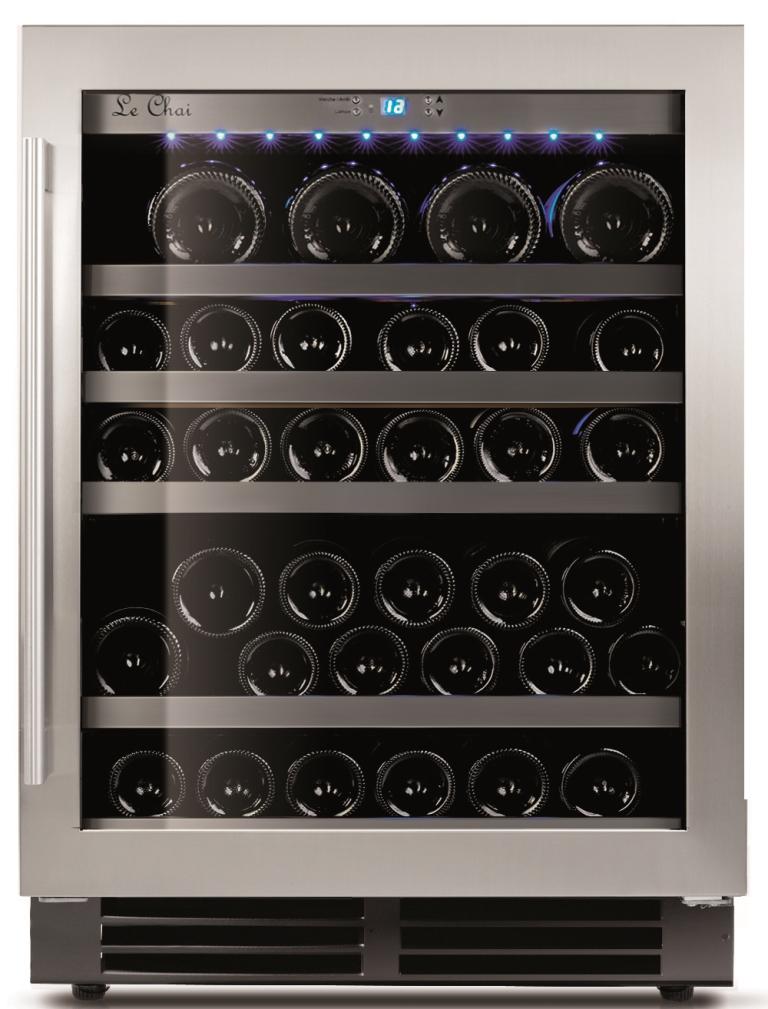 Le Chai LM480-48 wijnflessen onder een werkblad of vrijstaand