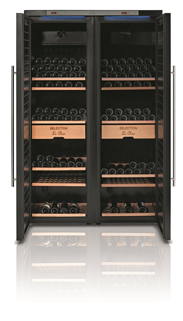 Le Chai LSV4740H Side By Side Wijnbewaarkast voor 474 flessen Energielabel A+