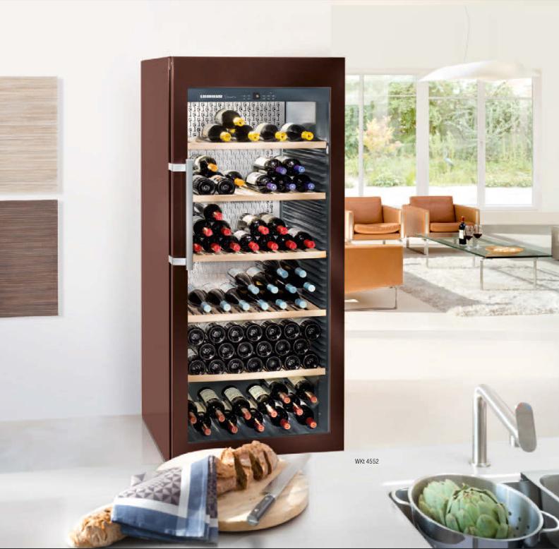Design wijnbewaarkasten | Liebherr