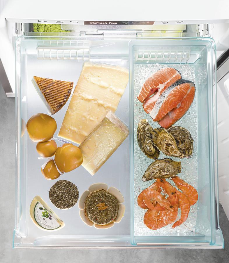 Liebherr koelkast met speciale vis lade
