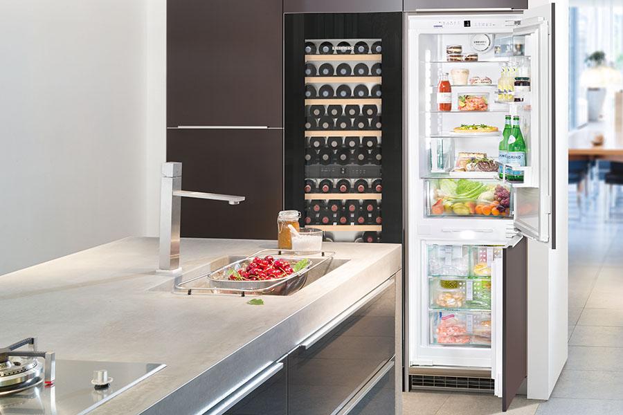 Liebherr koelmeubel zelf combineren product in beeld for Zelf keuken samenstellen