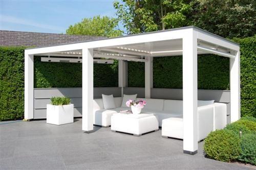 livium louvre pergola vrijstaande overkapping product in beeld startpagina voor tuin idee n. Black Bedroom Furniture Sets. Home Design Ideas