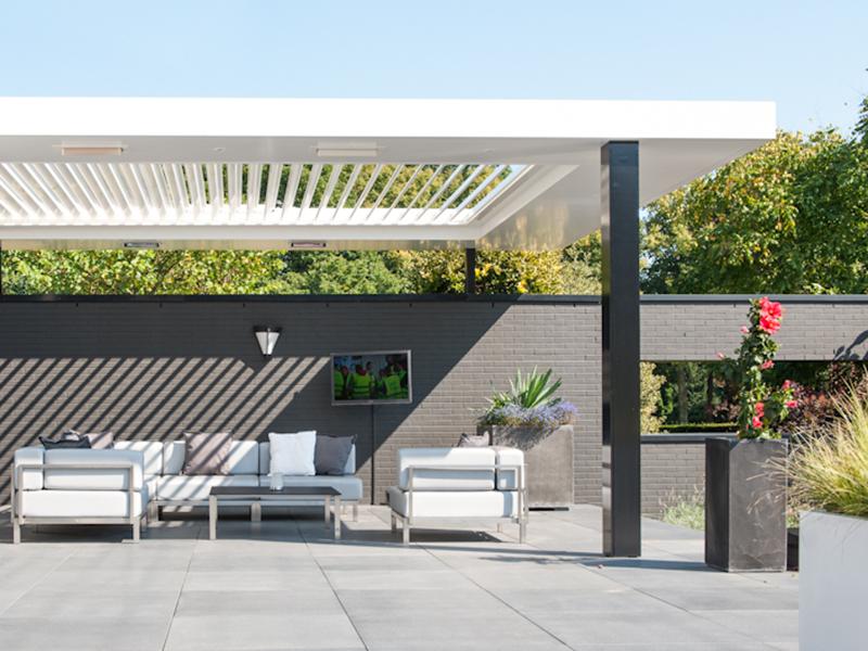 Livium louvredaken luxe terrasoverkapping - Product in beeld ...
