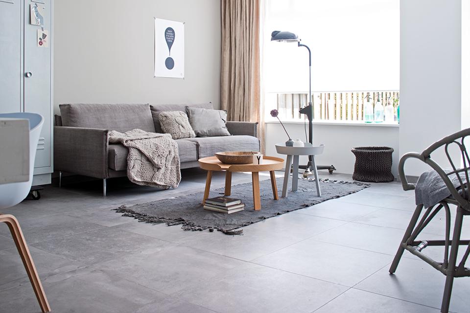 Loft Grey I vtwonen tegels by Douglas & Jones