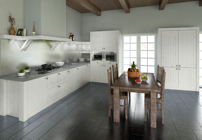 Houten Keuken Frontjes : Long Island houten keukens Product in beeld