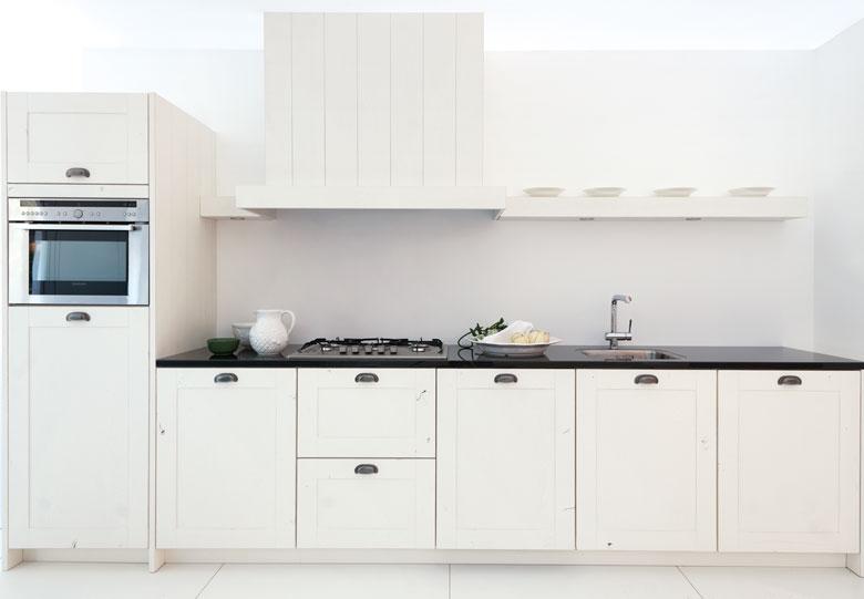 Witte keuken met hout ~ consenza for .