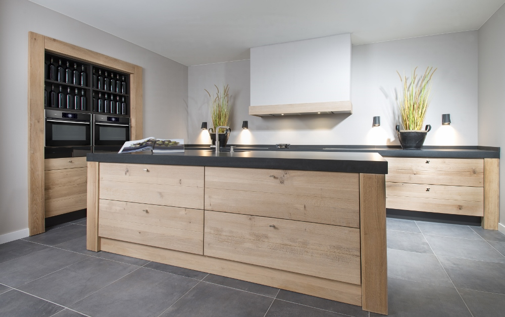 Long Island Kitchens houten keuken Product in beeld