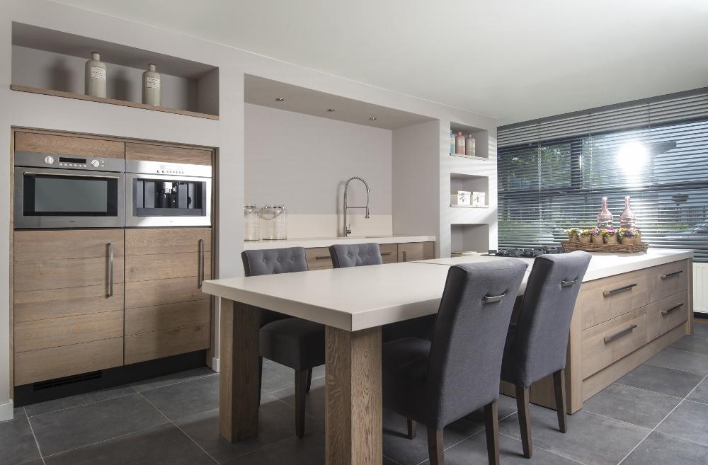 Witte Keuken Met Kookeiland : landelijke keukens houten keukens en ...