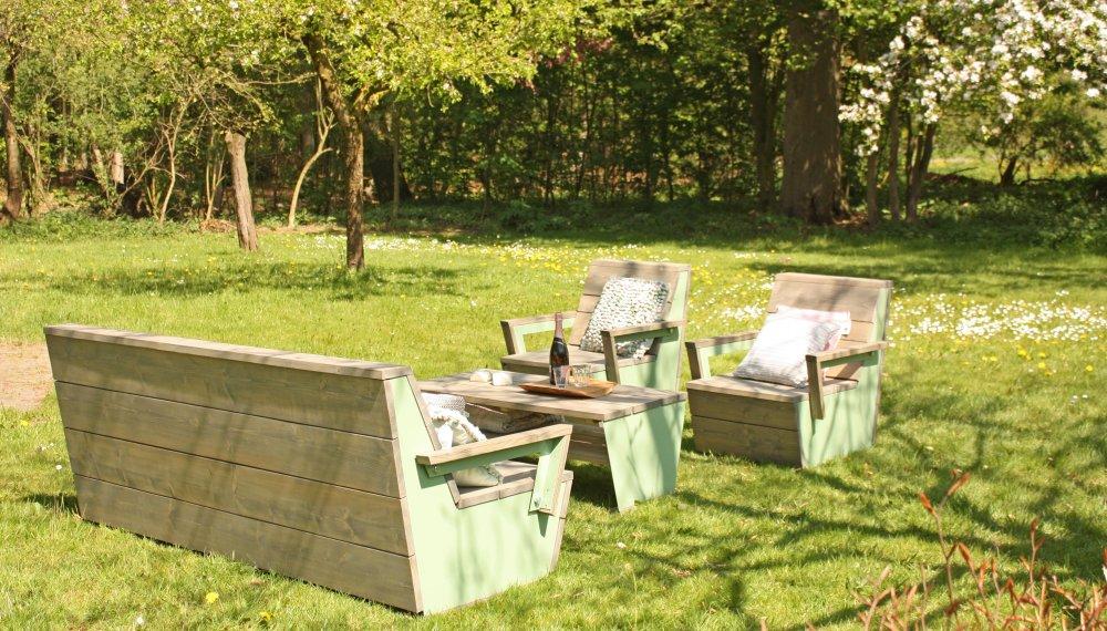 Lounge set elan product in beeld startpagina voor for Woonmagazines nederland