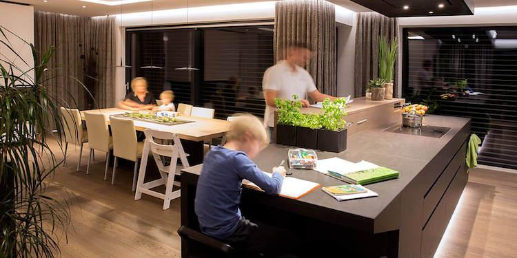 Persoonlijke lichtstemming in een smart home
