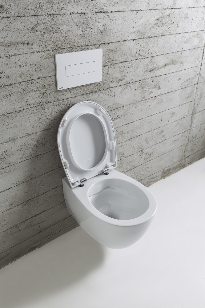 Luca Sanitair - Globo Senzabrida randloze toiletten
