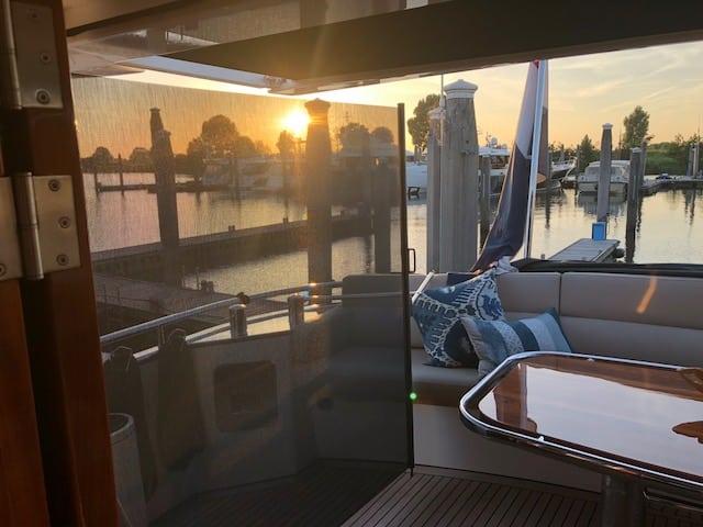 Oprolbaar windscherm | LuxxOut