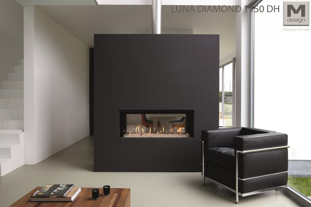 M-design doorkijkhaard Luna Diamond 1150DH