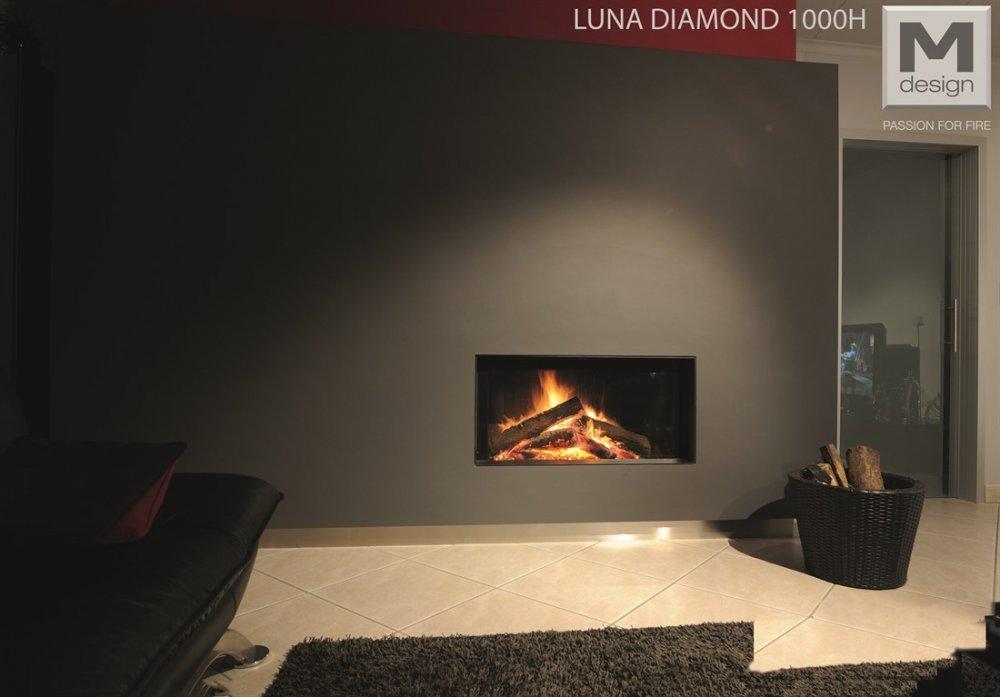 Foyer M Design Luna : M design liftdeurhaard luna diamond h product in