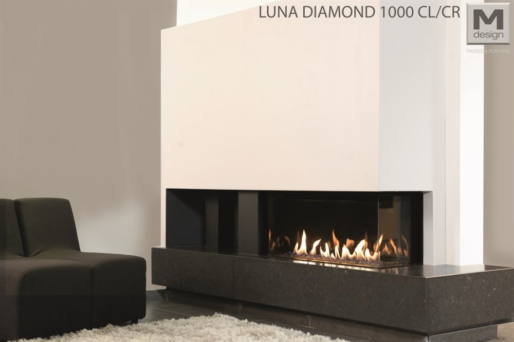 M-Design Luna Diamond hoek gashaard 1000 CL/CR