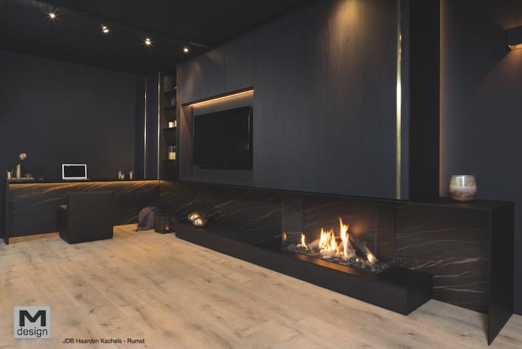 True Vision Open Fire Look 1050DC | M-design