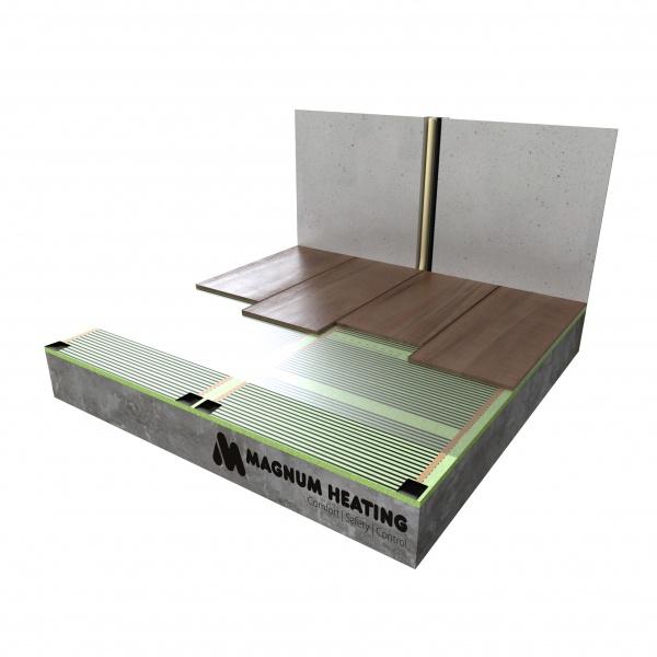 MAGNUM elektrische vloerverwarmingsfolie
