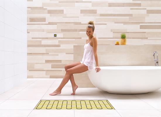 Magnum Mat unieke vloerverwarmingsmat voor de badkamer