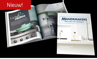 Mandemakers gratis keukenboek 100 pagina's dik!