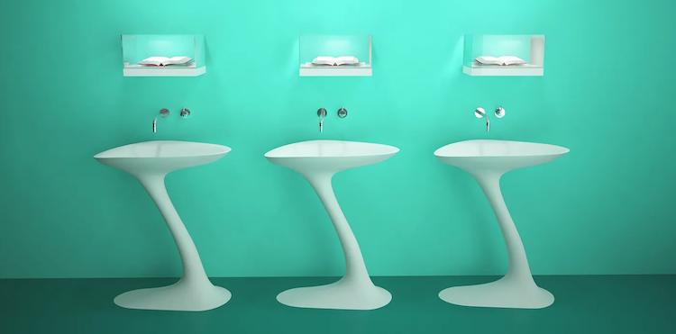 Design Wastafel Swan | Marike