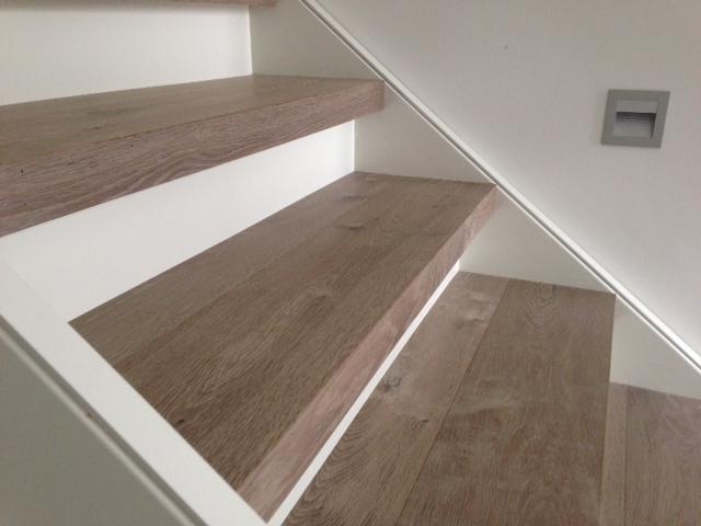 Martijn de Wit Vloeren trap bekleden hout
