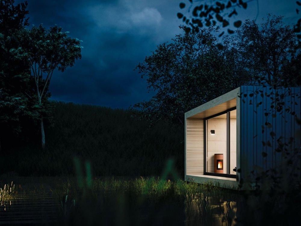 mcz pelletkachel mood product in beeld startpagina. Black Bedroom Furniture Sets. Home Design Ideas