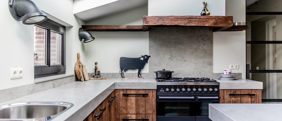 Mereno landelijke keuken worchester oud hout product in beeld startpagina voor keuken idee n - Keuken oud land ...
