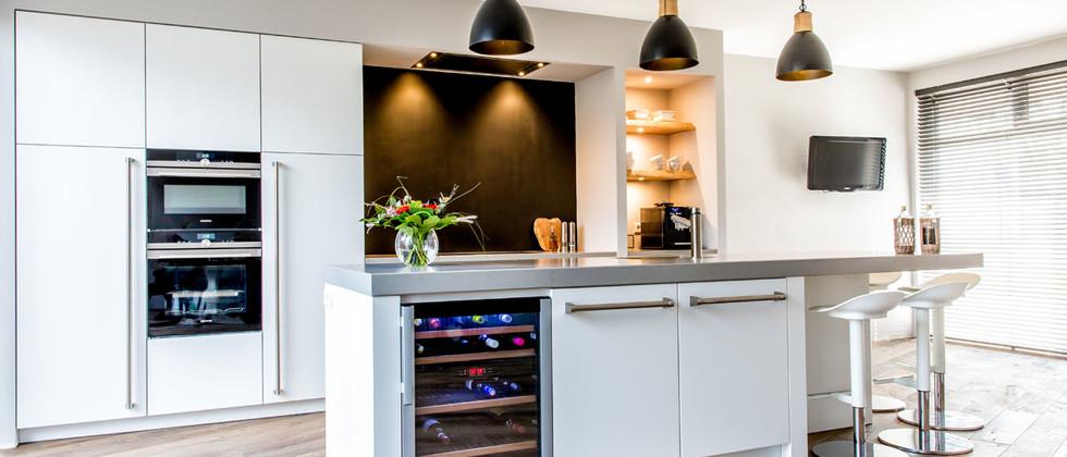 Mereno moderne keuken Strakke Milano