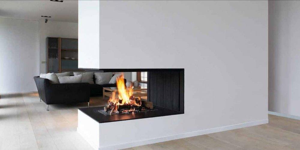 metalfire universal 3 zijdige houthaard product in beeld. Black Bedroom Furniture Sets. Home Design Ideas