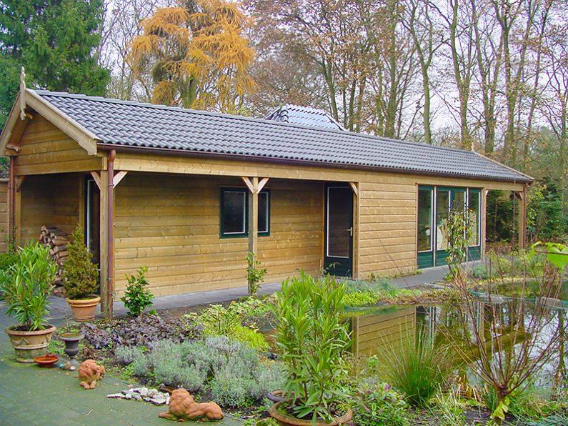 Atelier in de tuin | MG Houtbouw
