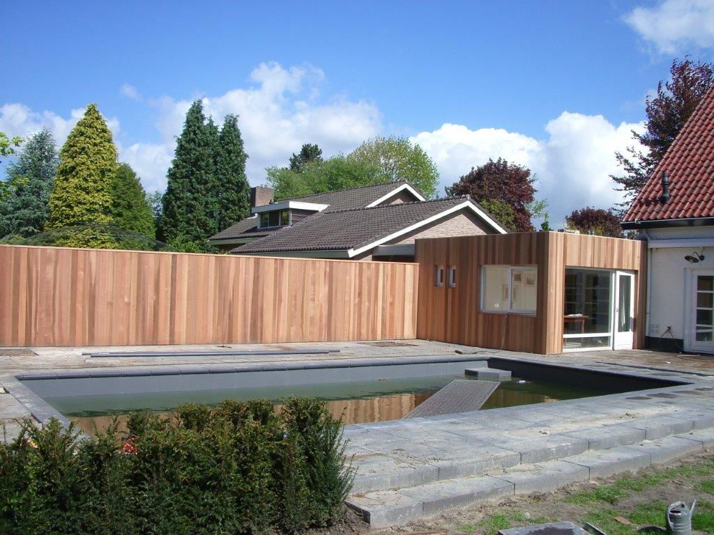 Houten poolhouse | MG Houtbouw