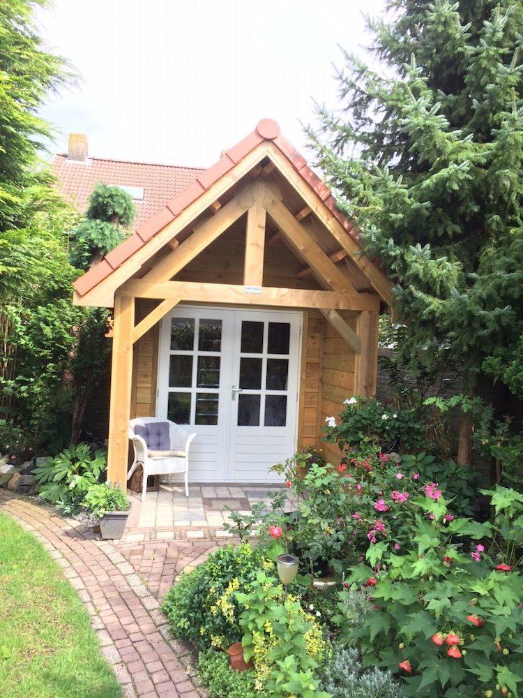 Tuinhuis op maat | MG Houtbouw