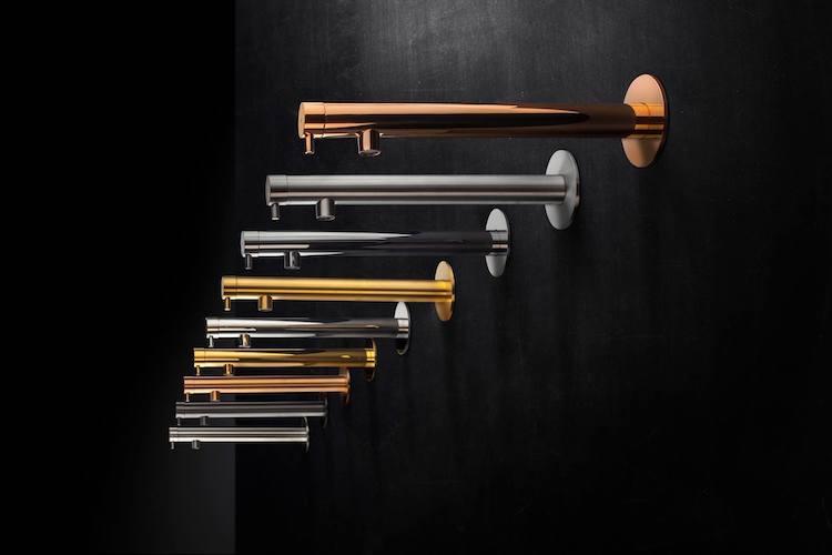 Kranen van gekleurd staal | MGS
