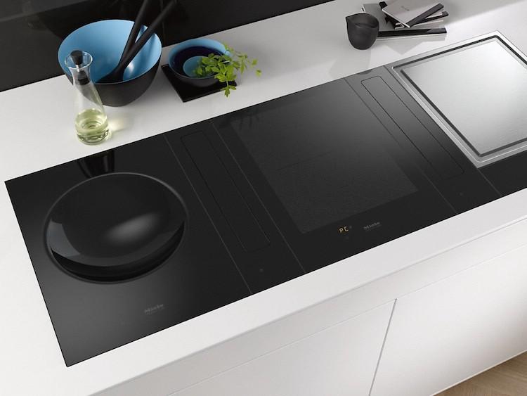 Inductie kookplaat met wok
