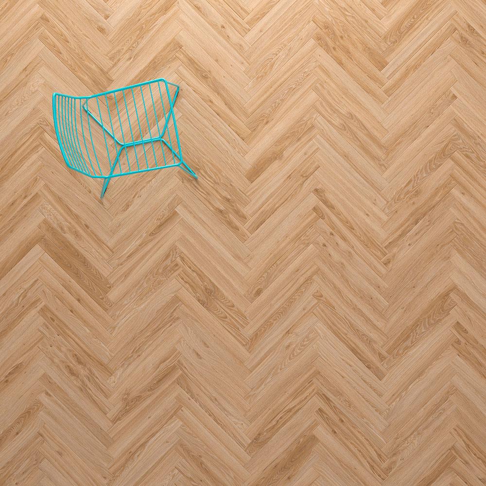 Moderne interpretatie van de visgraat vloer - Product in beeld ...