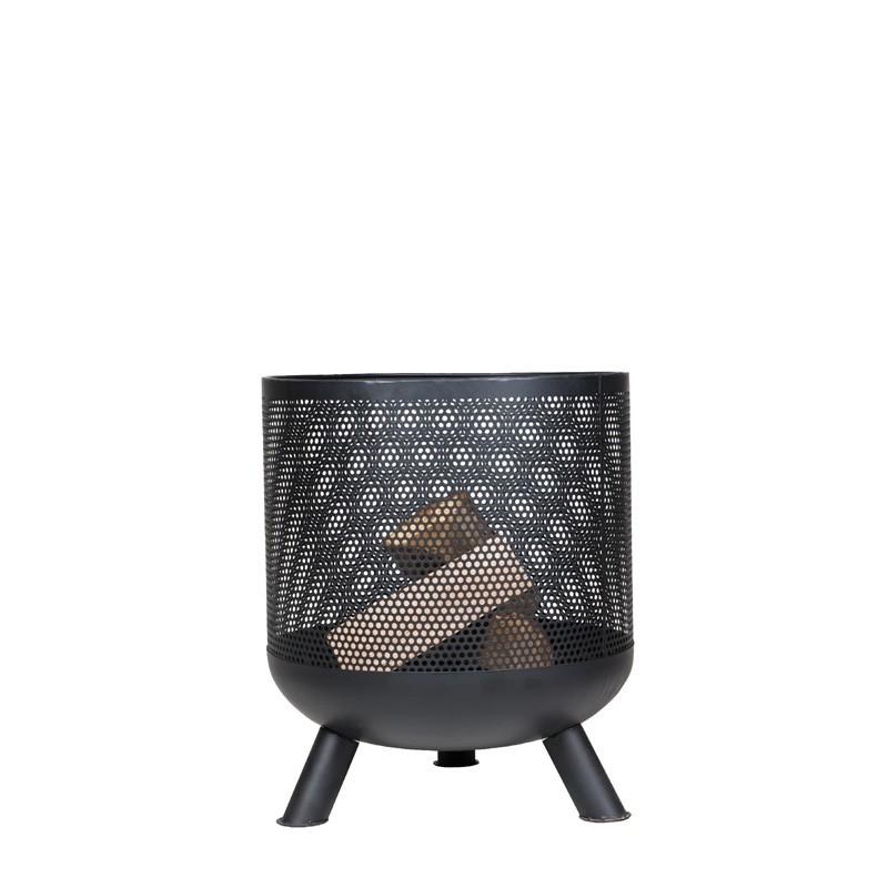 Moderne ronde buitenhaard Boro | Livin' Flame