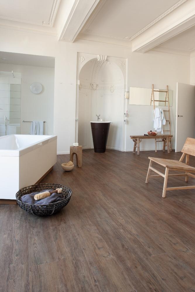Moduleo transform vinylvloer badkamer product in beeld startpagina voor vloerbedekking - Waterafstotend badkamer ...