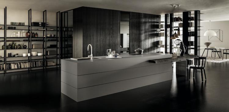 Extreem Design keukeneiland met uitschuifbare tafel - Product in beeld #XF49