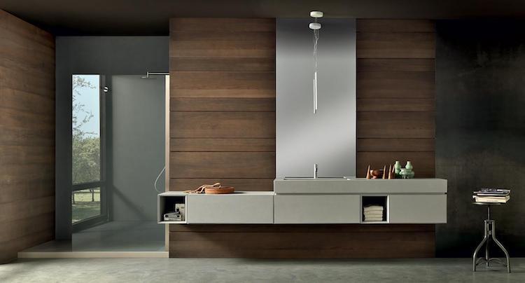 Eigentijds en minimalistisch badmeubel