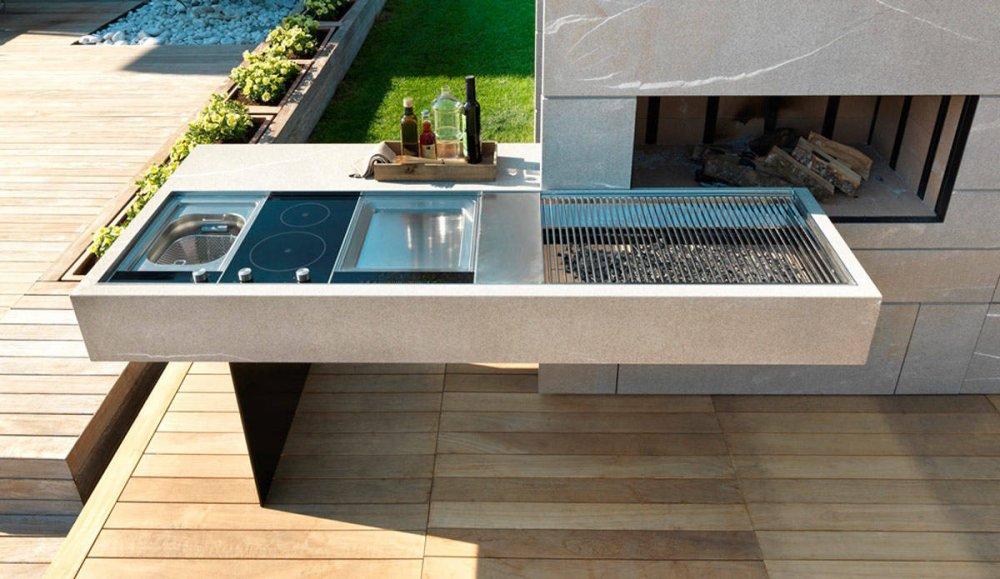 Wonderlijk Modulnova Outdoor buitenkeuken - UW-keuken.nl NV-49