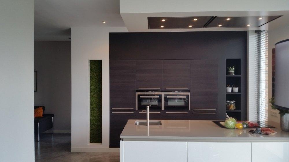Moswand of mosschilderij in de keuken - Product in beeld ...