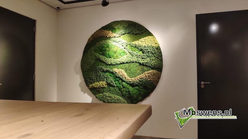Schilderij van mossenmix | Moswens