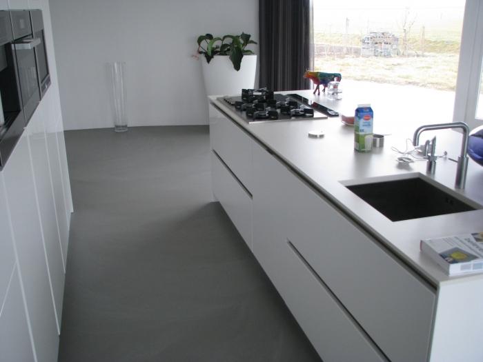 Gietvloer Kitchens Keuken : Motion high performance gietvloer product in beeld startpagina