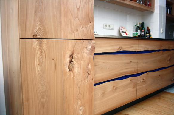 Natuurkeuken van iepenhout | Atelier de Zonnevlecht