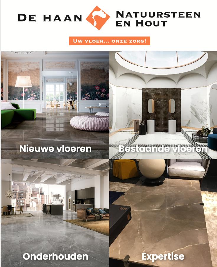 Natuursteen in de badkamer | Brochure